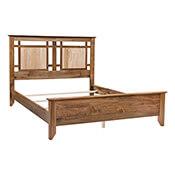 Yancy Cobler - Wormy Maple Queen Bed