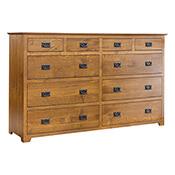 Yancy Cobler 10 Drawer Dresser