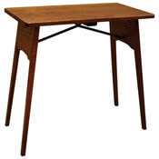 "27"" Amish Folding Table"
