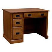 "43"" x 31"" Amish Mission Desk"