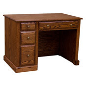 """43"""" Traditional Small Desk"""