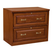 Traditional Two-Drawer Lateral File Cabinet