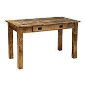 "Amish Heavy 3"" Legs Desk,  Brown Maple  Jacobean"