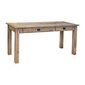 "Amish Heavy 3"" Legs Desk, Brown Maple 121"
