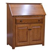 "36"" Amish Traditional Secretary Desk"