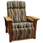 Amish Two Tone Recliner