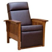 "37"" Mission Morris Chair- Recliner"
