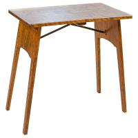 "27"" Cherry Amish Folding Table"