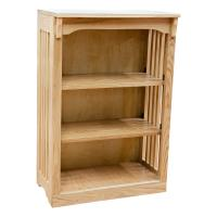 "24"" x 36"" Mission Spindle Bookcases"