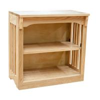 "24"" x 24"" Mission Spindle Bookcases"
