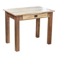 "Amish Heavy 3"" Legs Desk,  Wormy Maple / Character Walnut"