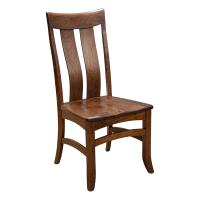 Amish Galvin Side Chair Cherry