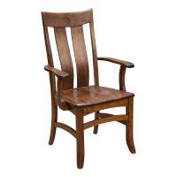 Amish Galvin Arm Chair Cherry