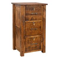 """24"""" Settlers Three-Drawer File Cabinet"""