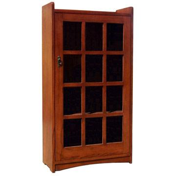 One Door Mission Bookcase