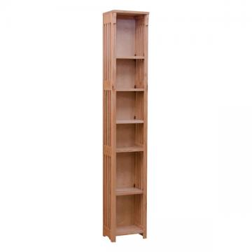 "12"" x 72"" Small Mission Spindle Bookcase"
