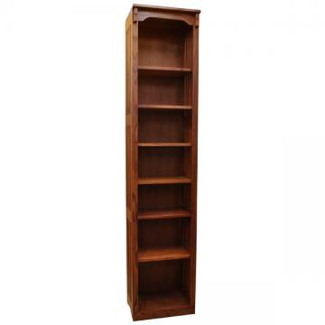 18x84 Mission Spindle Bookcase