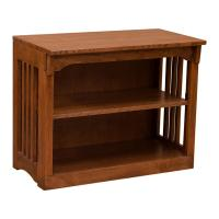 "30"" x 24"" Solid Oak Spindle Bookcase"