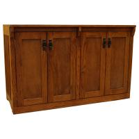 "48"" x 30"" Mission Spindle Credenza"