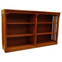 """60"""" x 36"""" x 12"""" Mission Spindle Bookcase"""