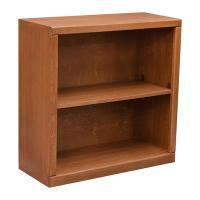 """Contemporary 30"""" x 30"""" Oak Bookcase"""