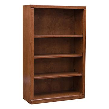 """Contemporary 30"""" x 48"""" Oak Bookcase"""
