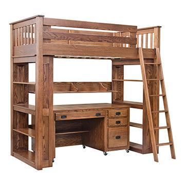Custom Loft Bed w/ Desk