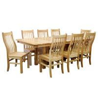 Rochester Mission Hickory 7pc Set w/ 4 leaves