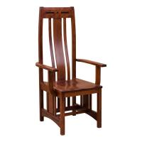 Aspen Cherry Arm Chair
