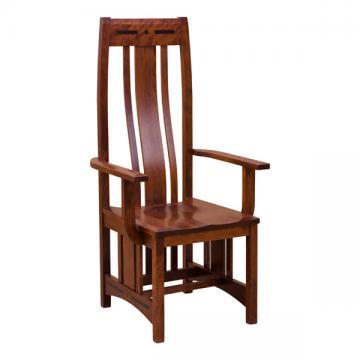 Aspen Cherry Arm Chair
