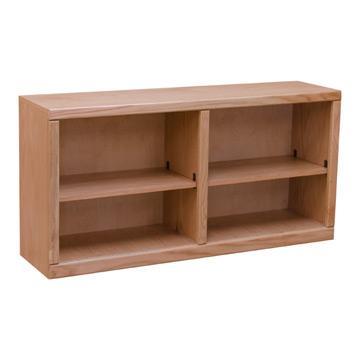 Contemporary  48? x 24? Oak Bookcase
