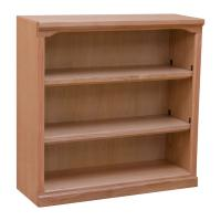 "Traditional 36"" x 36"" Oak Bookcase"