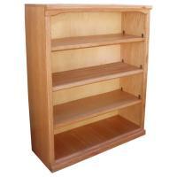 "Traditional 36"" x 48"" Oak Bookcase"