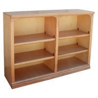 "Traditional 48"" x 36"" Oak Bookcase"