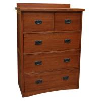 Mission Deluxe 5-Drawer Chest