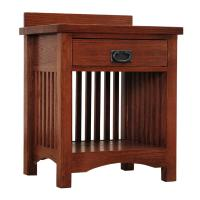 Mission Deluxe 1-Drawer Night Stand