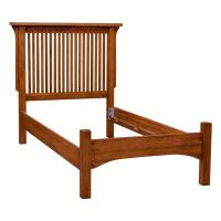 Mission Deluxe Low-Footboard Bed, Twin