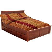 Mission Chest Bed, Queen