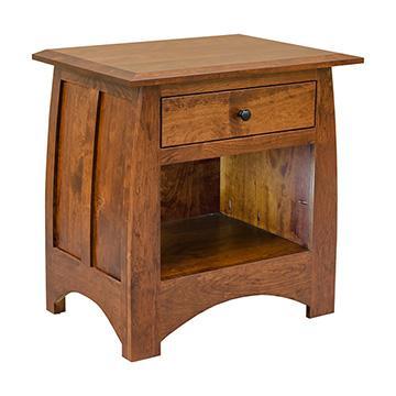 Aspen 1 Drawer Nightstand