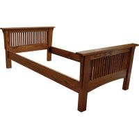 Amish Mission Spindle Twin Bed