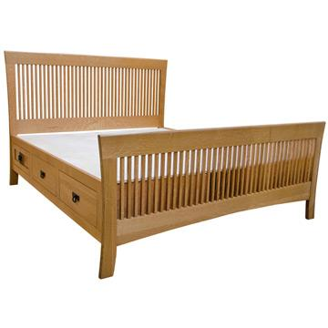 Amish Mission Carlyl Chest Bed