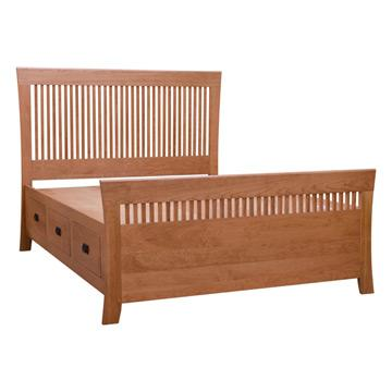 Carlyl Queen Chest Bed