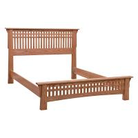 Bungalow Low Footboard Bed