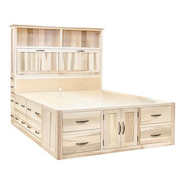 Mission Chest Bed