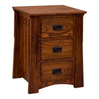 "22"" Amish Mission Bungalow Night Stand"