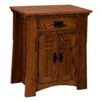 Bungalow One Drawer / Two Door Nightstand