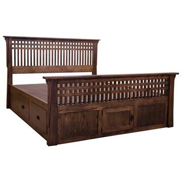 Amish Bungalow Bed w/ Drawers