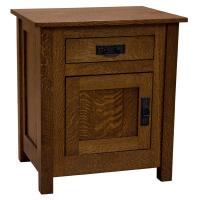 Amish Mission Cornwall Drawer & Door Nightstand