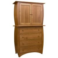"46"" Amish Traditional Hillsdale Armoire"