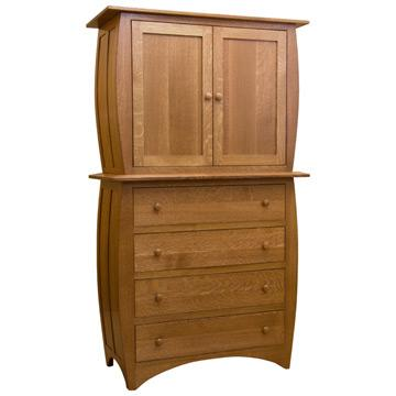 """46"""" Amish Traditional Hillsdale Armoire"""